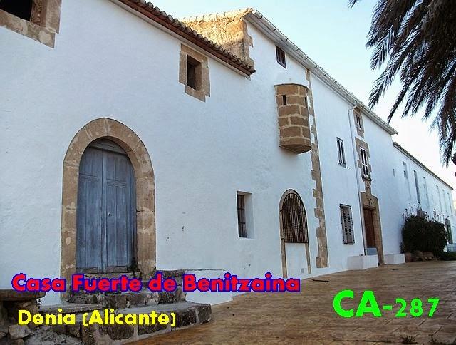 Gu a de los castillos torres y fortificaciones de for Casa domingo alicante