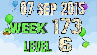 Angry Birds Friends Tournament level 6 Week 173
