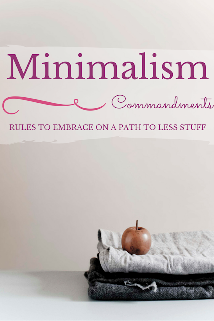 Minimalism_Commandments
