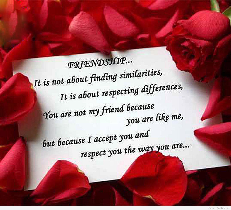 Unique Love Quotes Wallpaper : Download Friendship HD Wallpapers 2014 ~ Unique Wallpapers