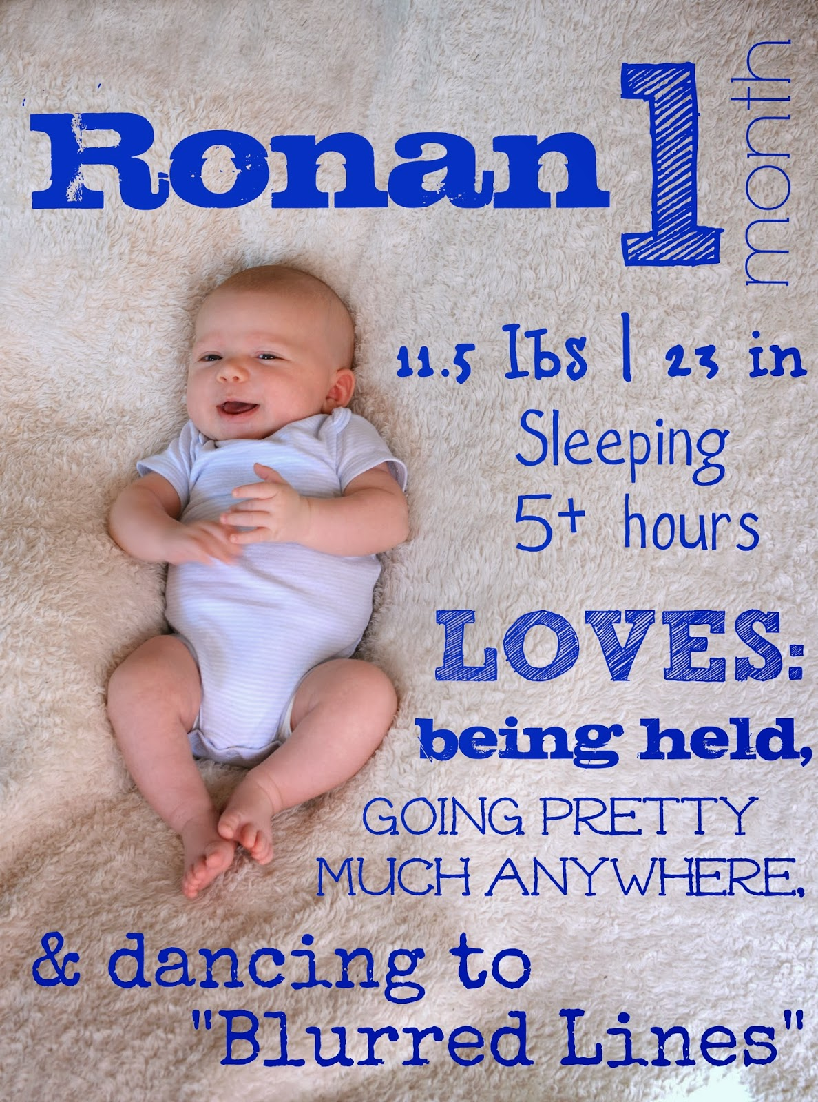 Love Jenny Xoxo Ronan Is Two Months Old
