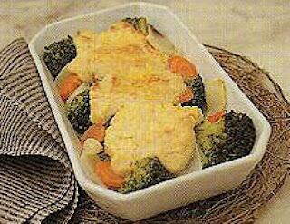 Receta Comida Gratinado de Verduras y mas
