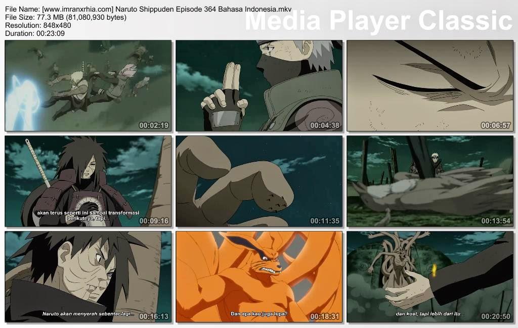"Download Film / Anime Naruto Episode 364 ""Ikatan yang Menyatukan"" Shippuden Bahasa Indonesia"