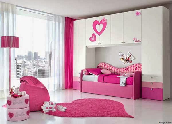d coration chambre fille de 7 ans. Black Bedroom Furniture Sets. Home Design Ideas