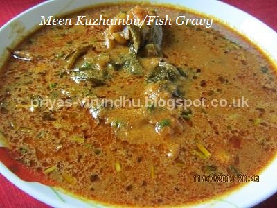 Priyas virundhu fish gravymeen kuzhambu south indian style thank you for visiting my blog please come again for authentic and traditional recipes of south india forumfinder Gallery