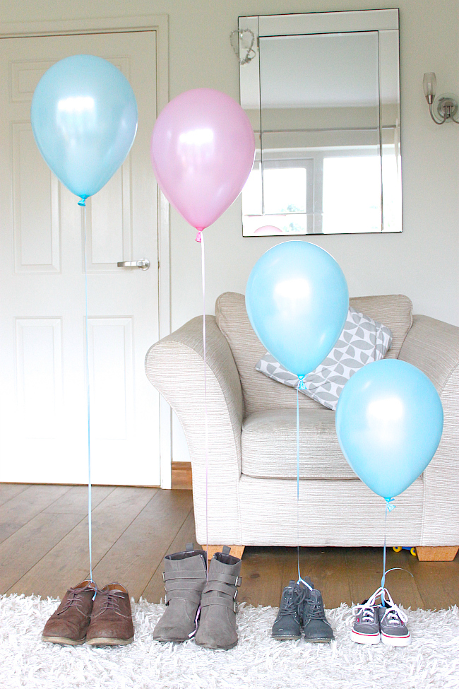 gender reveal, balloon gender reveal