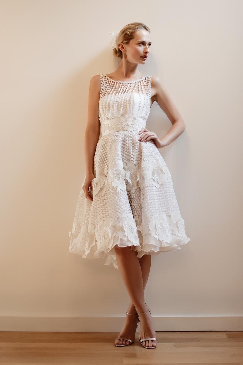 Designer Brautkleider Blog: Wahl eines kurzen Hochzeitskleid für ...