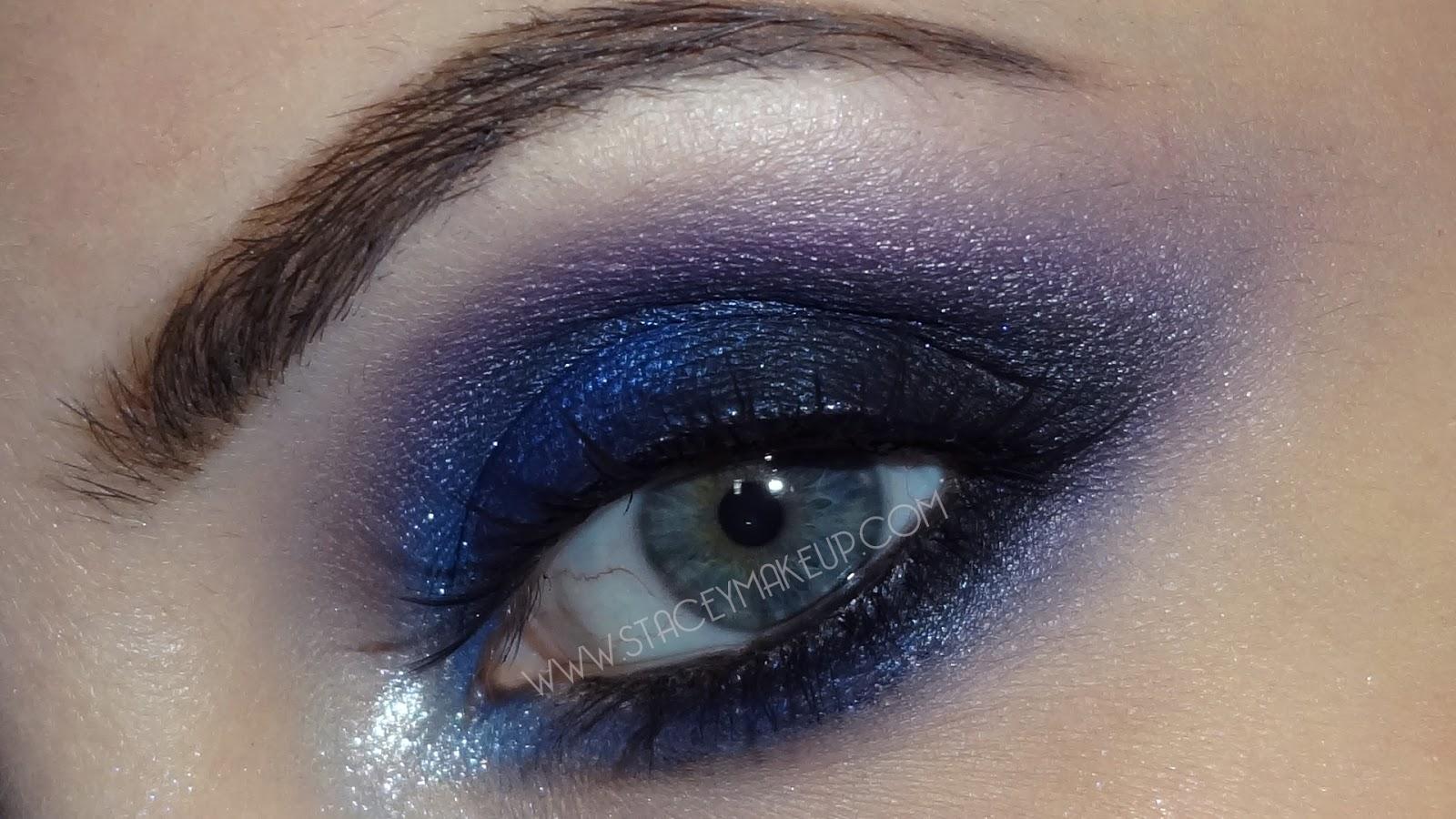 Blue smokey eye makeup hot girls wallpaper - Smokey eyes blau ...