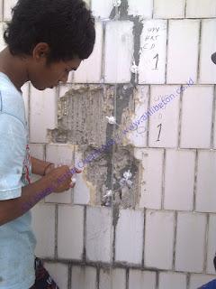 memperbaiki beton retak