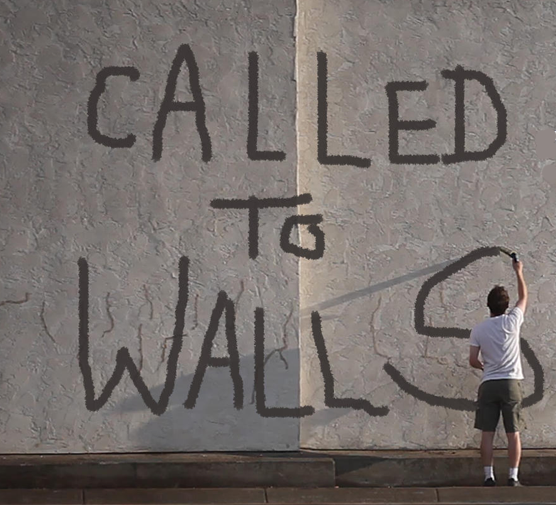 "Click on the image below to see the trailer for  ""Called to Walls"""