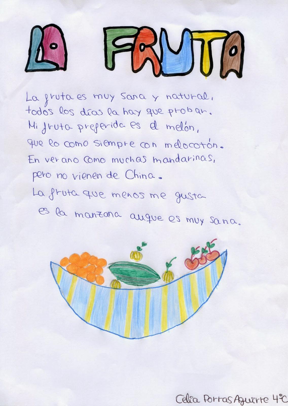 Nita Ferreira Poesia Infantil A Festa Das Frutas