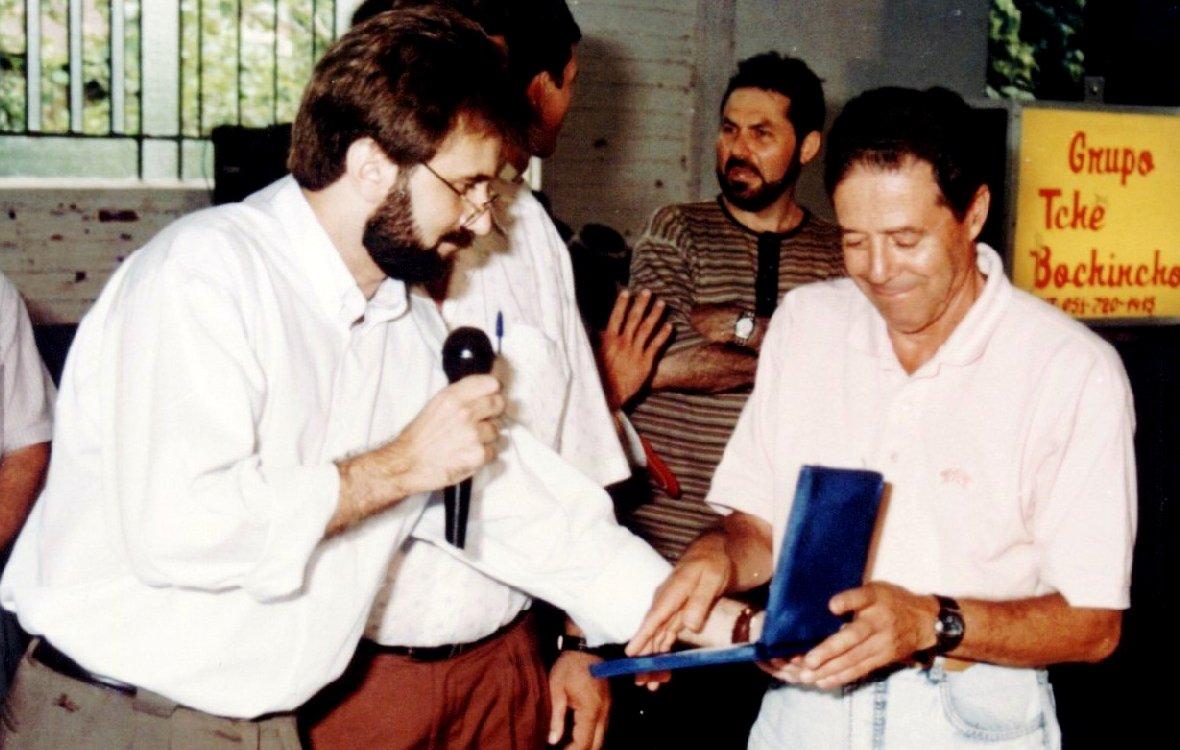 Airton Engster dos Santos e Hélio Porto Souza