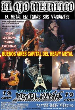 Magazine EL OJO METALICO