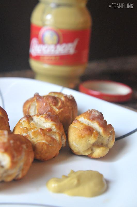 VeganFling: Soft Pretzel Bites