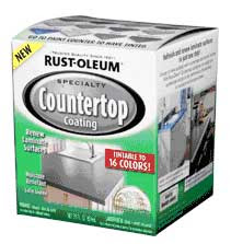 Rustoleum Countertop Paint Colors Lowes : Painted Countertops - The Wicker House