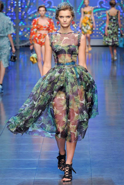 dolce gabbana17 - Dolce&Gabbana Ilkbahar 2012 | Milan Moda Haftas�