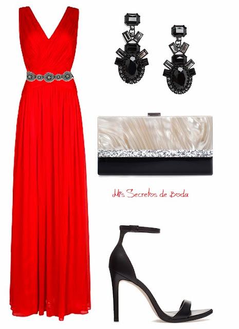 Look de Boda. Un Vestido Rojo.