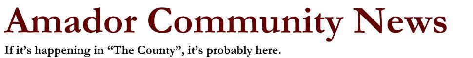 Amador Community News