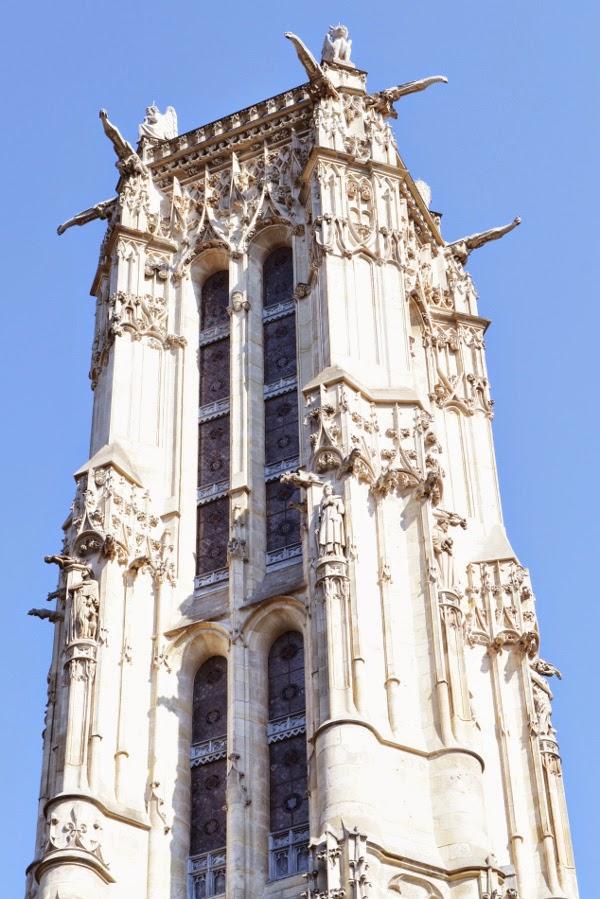 Art et glam visite du square de la tour saint jacques avec la tour saint ja - Tour saint jacques visite ...