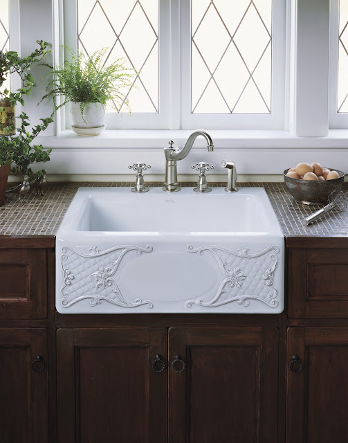 Apron Front Bathroom Sink : Apron Sink Trends - Kohler
