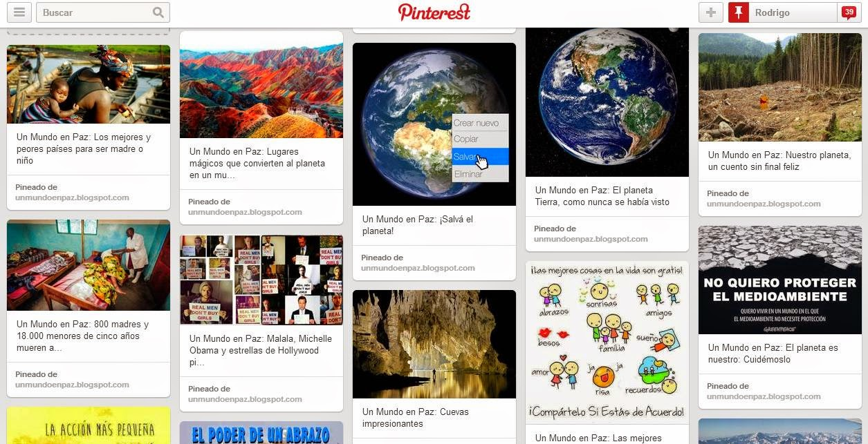 ESTAMOS EN PINTEREST