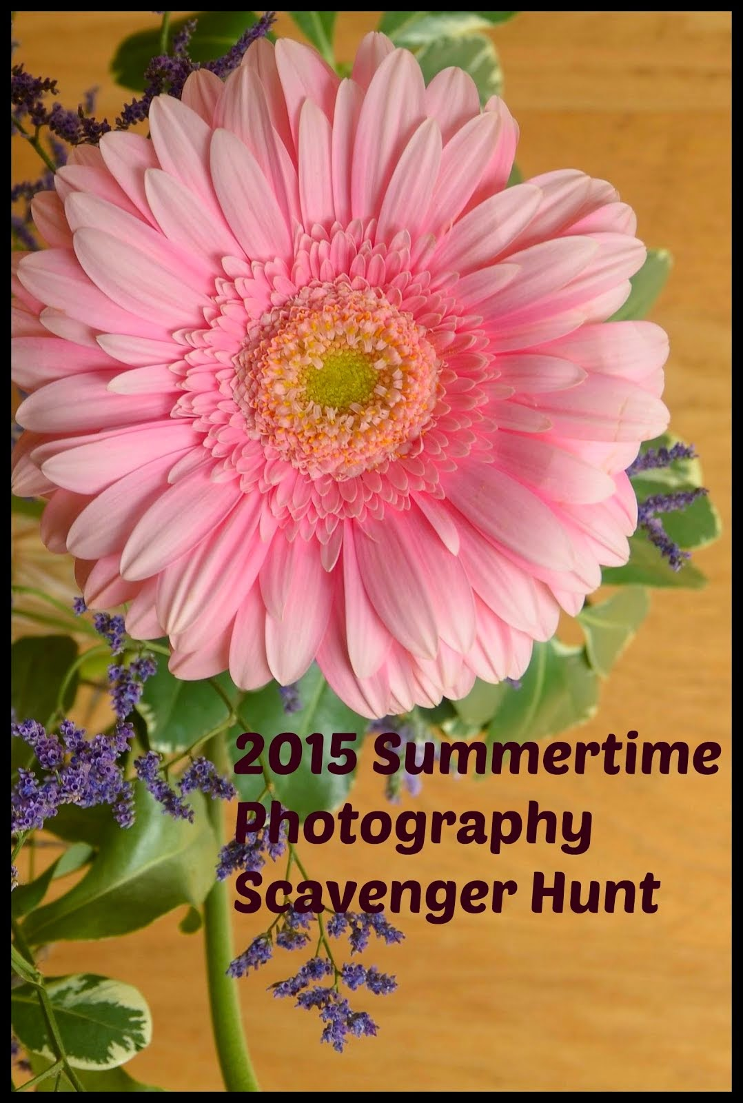Summer Photography Scavenger Hunt