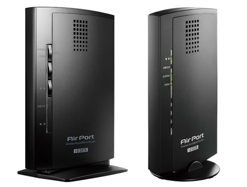 802.11ac I・Oデータ製ルータのPPPoE設定とWi-Fi設定