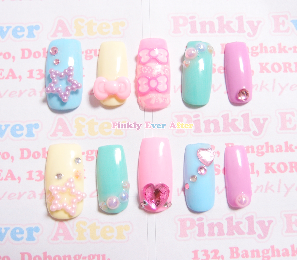 Fairy Kei Nails | Best Nail Designs 2018