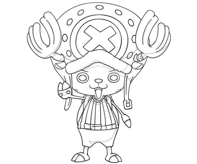 one-piece-tony-tony-chopper-look-coloring-pages