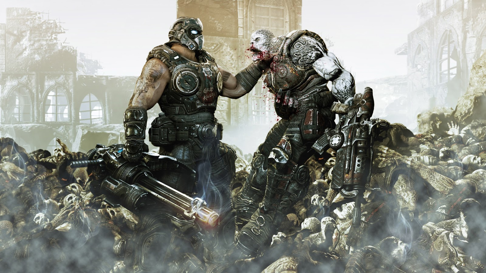 Gears of war xxx larue xxx