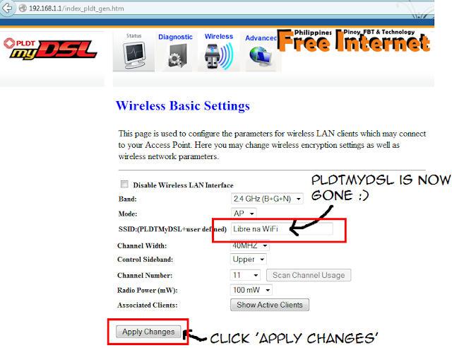how to change ssid name on router