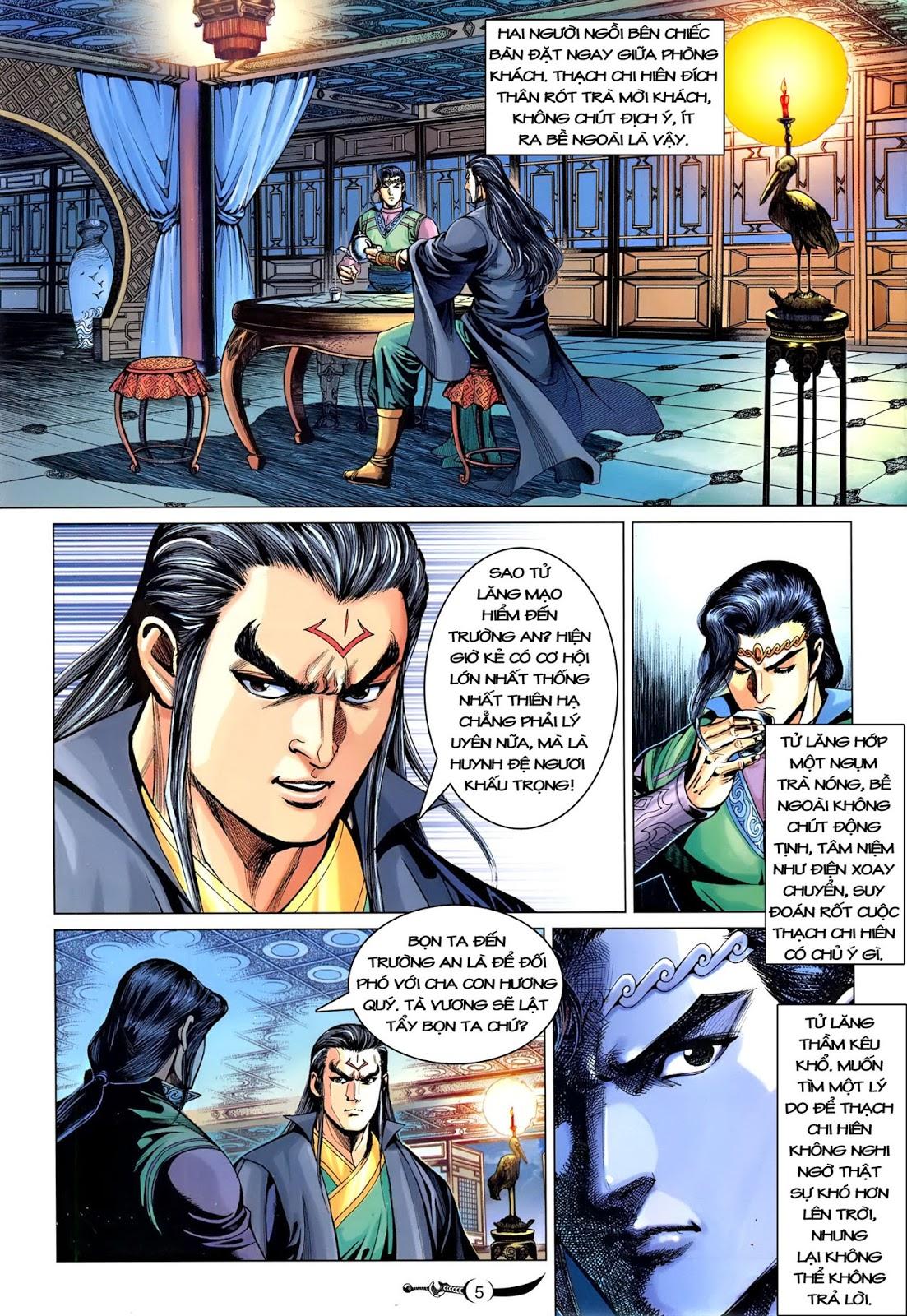 Đại Đường Song Long Truyện chap 216 - Trang 7