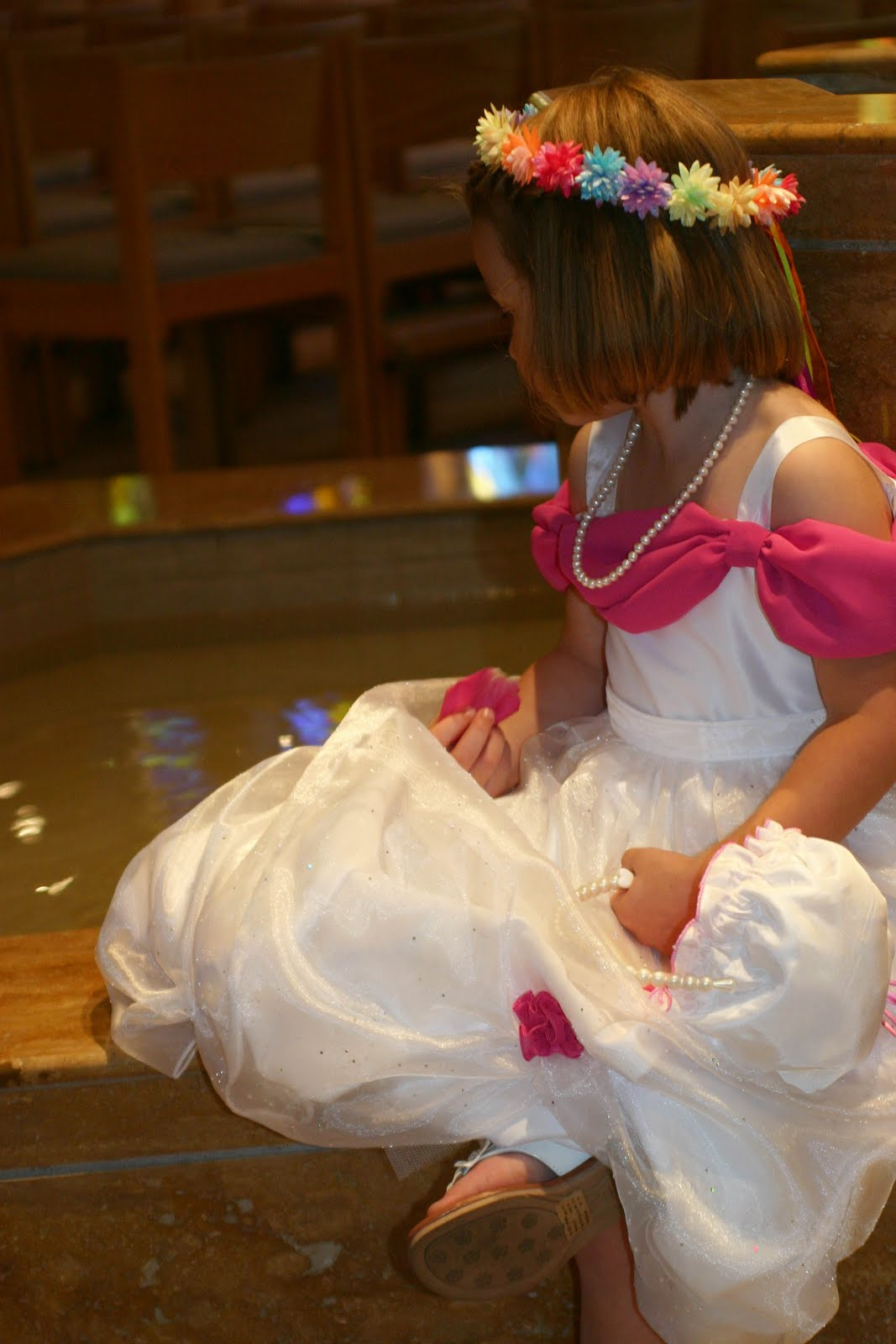 Tessa and Finnegan Sink Uncle Ken & Aunt Val s wedding Tessa the f