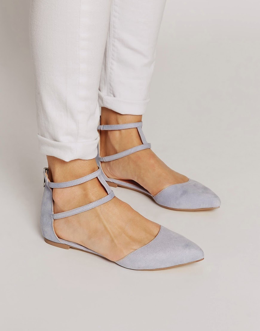 asos lilac flat, lilac flat shoes, double strap flat shoes,