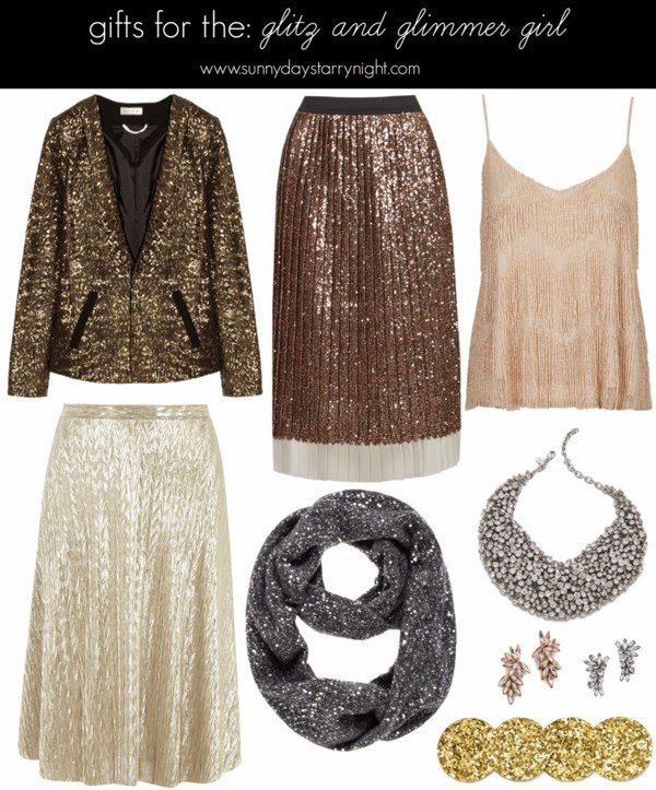gifts for the glitz and glimmer girl
