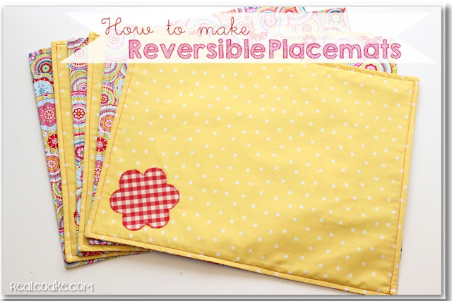 How to Make Placemats from realcoake.com
