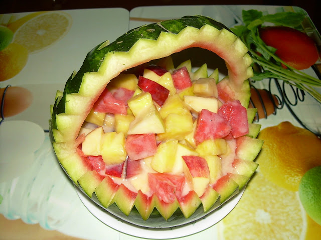 Souji s quot gathering ideas watermelon basket