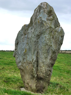 One of the Avenue Stones, Copyright 2012, Kaliani Devinne