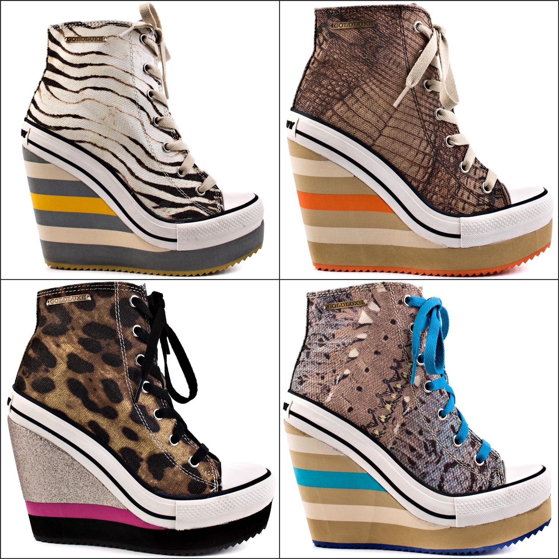shoe of the day rock lulu jungle wedge sneakers