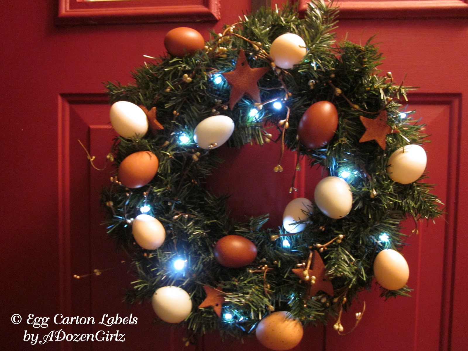 Lawyer christmas ornaments - To Learn How To Make Blown Eggs And Decorate Them Here The Eggs Were Attached To The Wreath By Stringing Floral Wire Through Both Ends Of The Blown Egg And