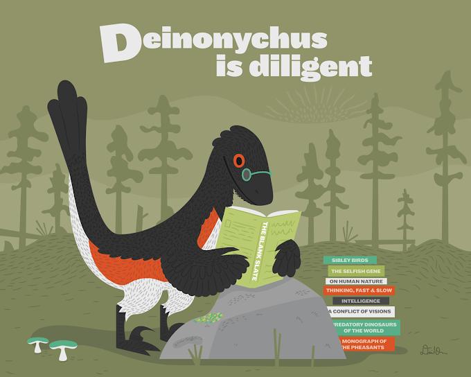 A Triassic Weirdo and a Reading Raptor