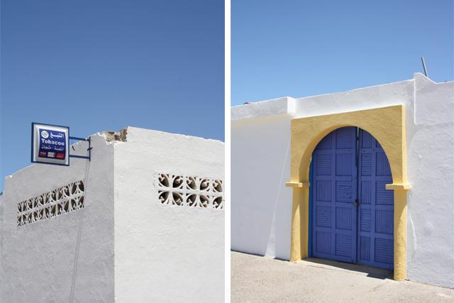Paysage  bord de mer d'Essaouira Maroc