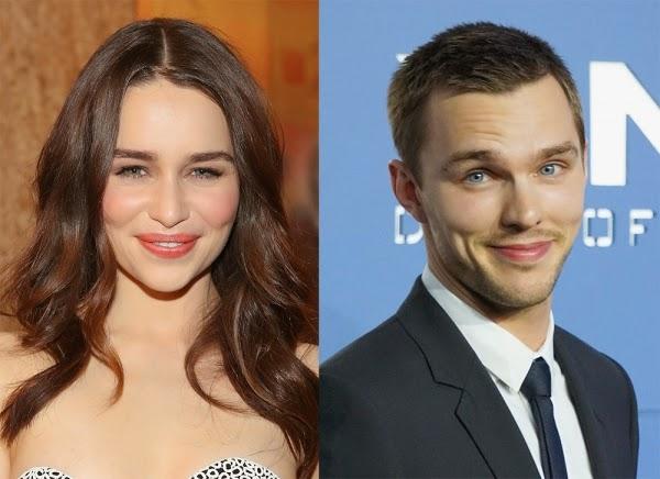 Emilia Clarke y Nicholas Hoult, los nuevos Bonnie y Clyde. MÁS CINE. Making Of. Noticias