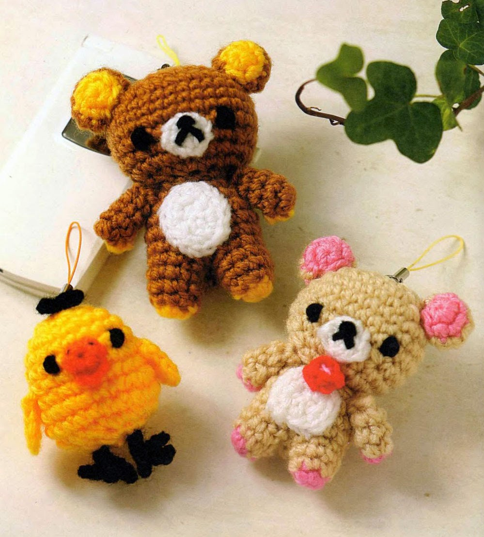 Amigurumi Japanese Patterns Free : Free Japanese Craft Patterns: October 2014