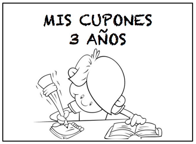 CUPONES 3 AÑOS
