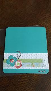 CTMH Blossom Checkbook Cover