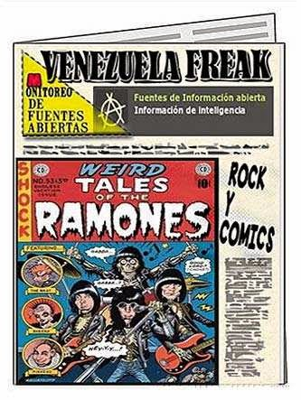 Front page - rock y cómics