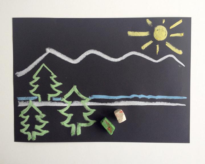 schaeresteipapier kekse und zuckerkreide. Black Bedroom Furniture Sets. Home Design Ideas