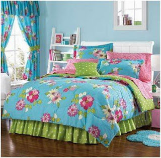 Cute and colorful teen girls room decor photos enter for Cheap bedroom designs for teenage girls