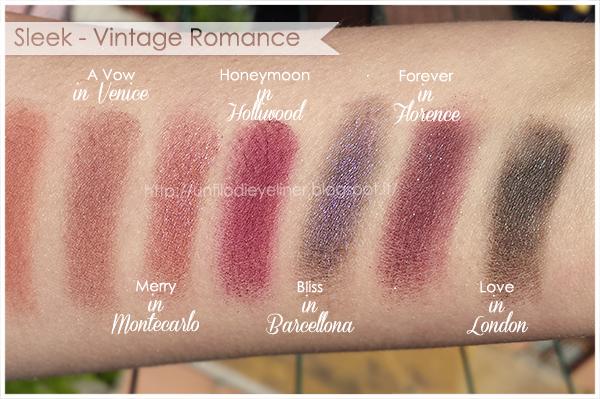 Swatch: Sleek - iDivine Vintage Romance